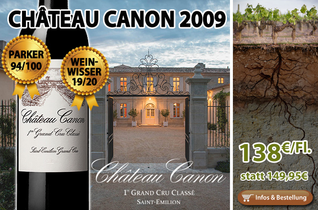This is the best since 1982: 2009er Château Canon St. Emilion
